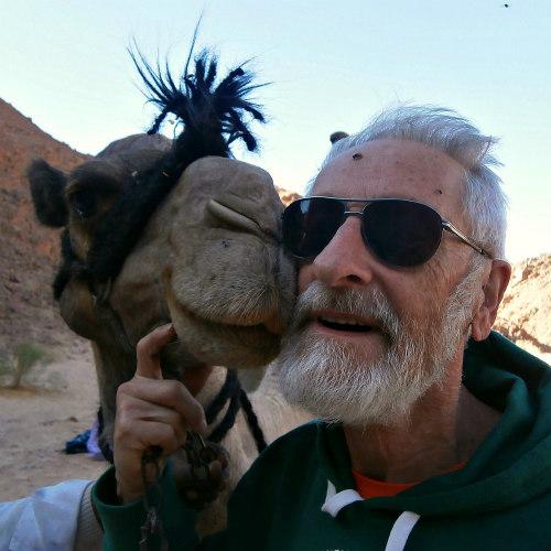 DesertJoy deelnemer John en zijn kameel Tunesie