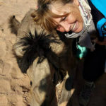 deelnemers en hun kameel DesertJoy