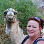 DesertJoy deelneemster Annelies en haar kameel Asfur