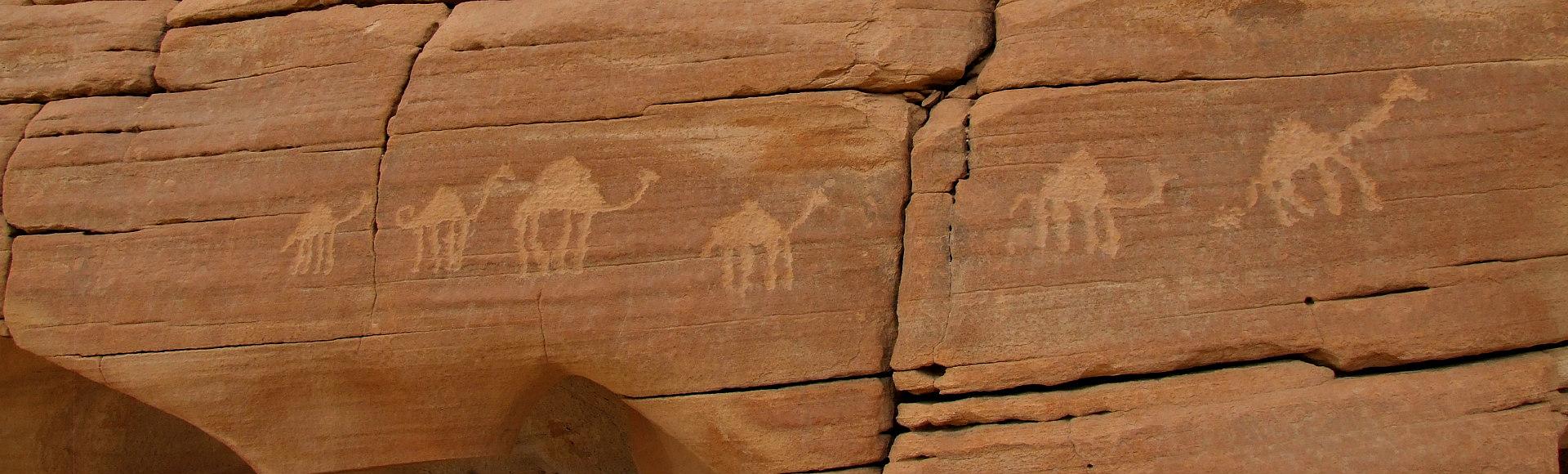 petroglyfen sinai woestijn DesertJoy