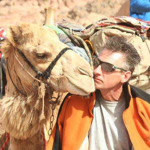 DesertJoy deelnemers en hun kameel