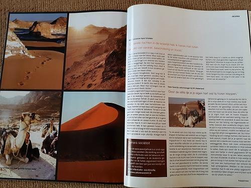 happinez woestijnreportage joyce schröder desertjoy