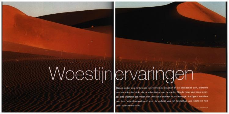 woestijn reportage